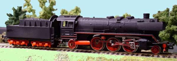 Piko Dampflokomotive Baureihe 23 001